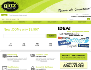 glitzmarketing.com screenshot