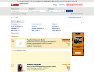 gliwice.lento.pl screenshot
