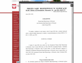 gliwice.sr.gov.pl screenshot