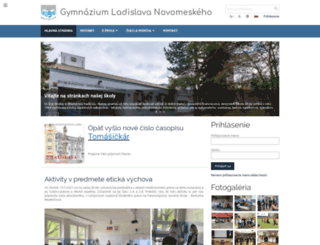 glnt.edupage.org screenshot