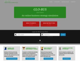 glo-bus.com screenshot