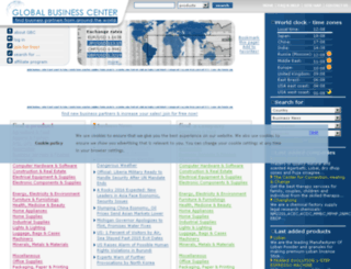 global-business-center.com screenshot