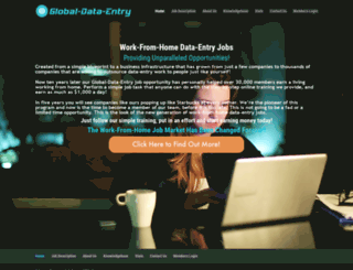 global-data-entry.com screenshot