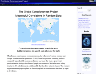 global-mind.org screenshot