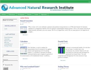 global-scaling-institute.de screenshot