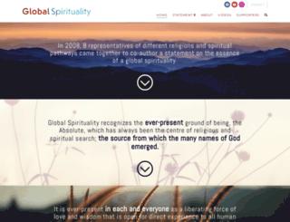 global-spirituality.info screenshot
