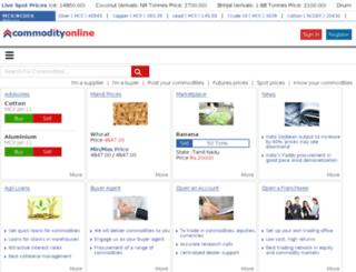global.commodityonline.com screenshot