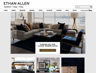global.ethanallen.com screenshot
