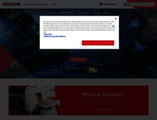global.kyocera.com screenshot