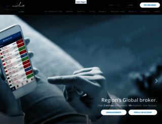 global.mubashertrade.com screenshot