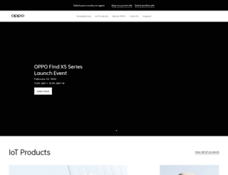 global.oppo.com screenshot