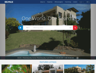 global.remax.com screenshot