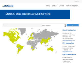 global.stefanini.com screenshot