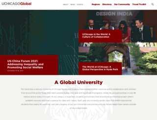global.uchicago.edu screenshot