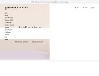 global.veronikamaine.com screenshot