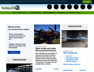 globalair.com screenshot