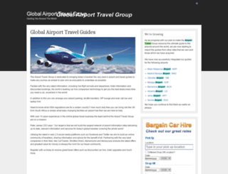 globalairporttravel.com screenshot
