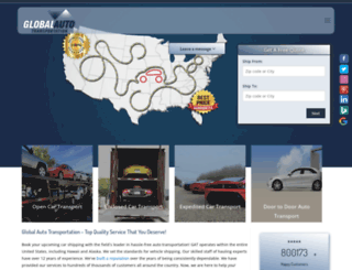 globalautotransportation.com screenshot