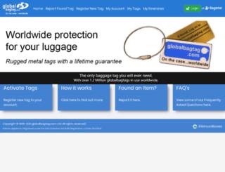 globalbagtag.com screenshot