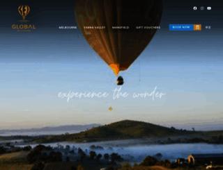 globalballooning.com.au screenshot