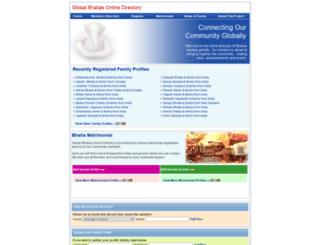 globalbhatias.org screenshot