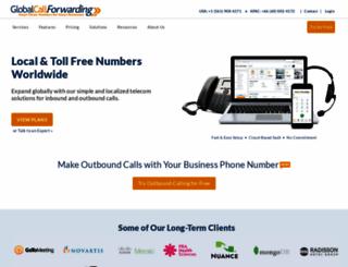 globalcallforwarding.com screenshot