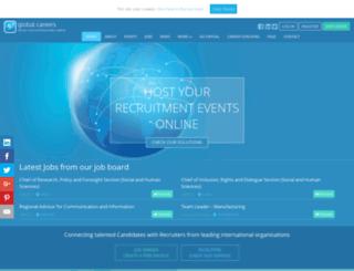 globalcareersfair.net screenshot