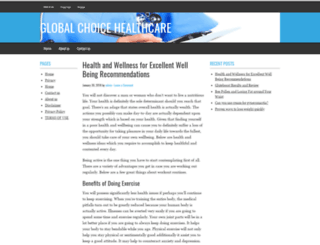 globalchoicehealthcare.com screenshot