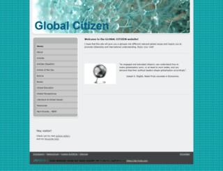 globalcitizen.jimdo.com screenshot