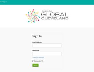 globalcleveland.igloocommunities.com screenshot
