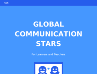 globalcommstars.org screenshot
