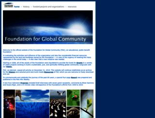 globalcommunity.org screenshot