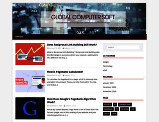 globalcomputersoft.com screenshot