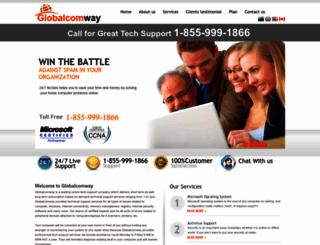 globalcomway.com screenshot