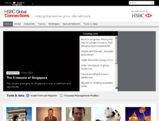 globalconnections.hsbc.com screenshot