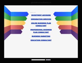globalconsultants.in screenshot