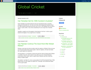 globalcricketblog.blogspot.com screenshot