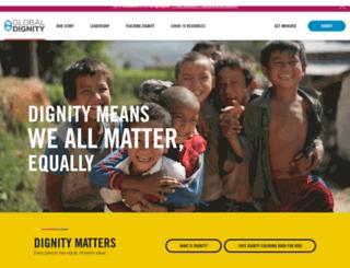 globaldignity.org screenshot