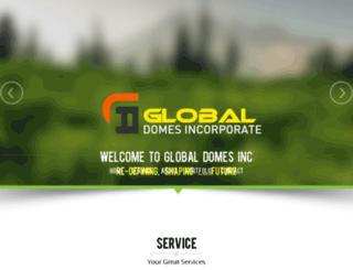 globaldomesinc.com screenshot