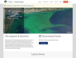 globalecology.stanford.edu screenshot