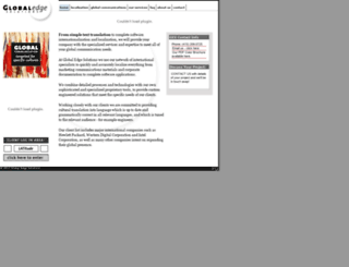 globaledgesolutions.com screenshot