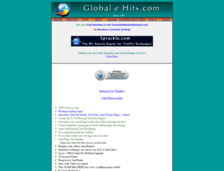 globalehits.com screenshot