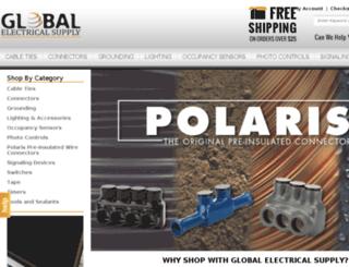 globalelectricalsupply.com screenshot
