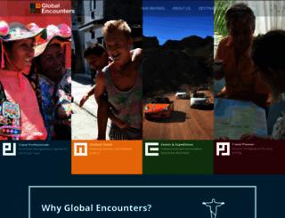 globalencounters.com screenshot
