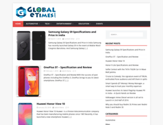 globaletimes.com screenshot