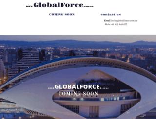 globalforce.com.au screenshot