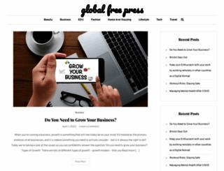 globalfreepress.com screenshot