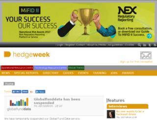 globalfunddata.com screenshot