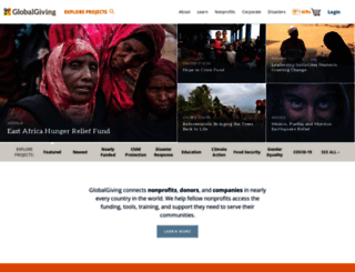 globalgiving.org screenshot