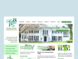 globalgreenps.com screenshot